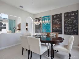 Transitional Dining Room Tables Dining Room With Chandelier Ampamp High Ceiling In Port Saint Lucie
