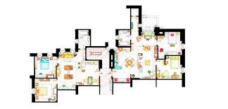 famous floorplans from your favorite movie and TV show homes