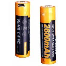 <b>Аккумулятор</b> 18650 2600 mAh <b>Fenix ARB</b>-<b>L18</b>-<b>2600U</b>