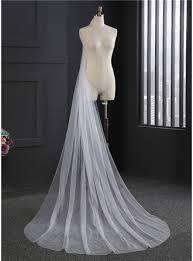 One-tier <b>Cut Edge</b> Cathedral <b>Bridal Veils</b> (006114025) - Wedding ...