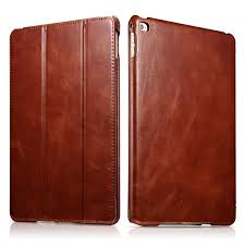 "Top Grade Slim Cow Genuine <b>Leather Case for iPad</b> Air2 9.7"" Retro ..."