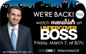 menchie s reappears on the cbs hit series undercover boss a menchie s reappears on the cbs hit series undercover boss a whole new twist business wire