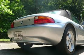 4usch7325tlb68812 1996 bmw z3 roadster 35475 original miles arctic silver black leather 5 speed bmw z3 1996 photo 6
