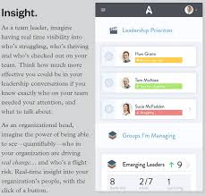 actionable conversations visions performance insight