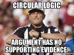 Logic Ref- Circular : memes via Relatably.com