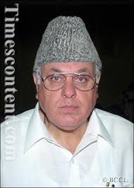 Minister of New and Renewable Energy Dr. Farooq Abdullah