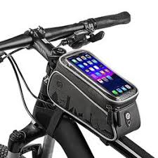 Bike Frame Bag Cycling Smartphone Bag Mtb Waterproof ... - Vova