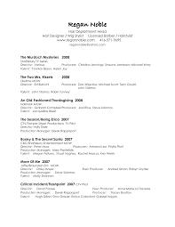film resume sample  seangarrette cofilm production resume template d wuhxto film production resume template   film resume sample