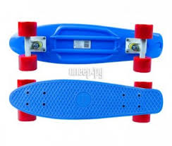 <b>Скейт</b> Maxcity MC Plastic Board small Blue