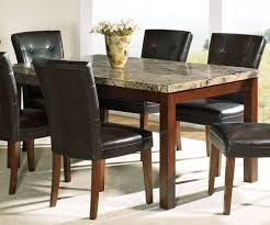 Marble Top Kitchen Table Set 7 Piece Marble Dining Table Sets Justin Dining Table Set Ferrara