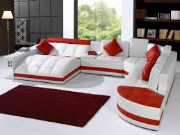 living room sofa ideas: impressive red living room furniture sofas interior ideas modern er living room furniture interior