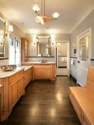 unique bathroom lighting. example of a trendy bathroom design in milwaukee with vessel sink unique lighting