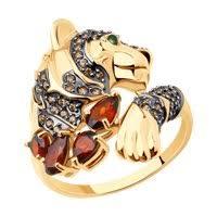Золотые <b>кольца</b> с <b>жёлтым</b> камнем <b>SOKOLOV</b> – купить в ...