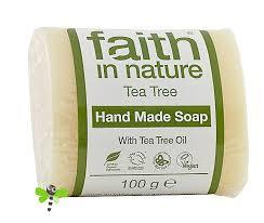 <b>Натуральное</b> мыло с эфирным <b>маслом Чайного Дерева</b> 100 грамм