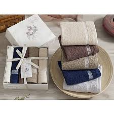 Купить набор полотенец в подарочной упаковке в интернет ...