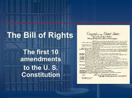 「10 amendments to the U.S. Constitution」の画像検索結果