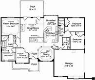 Nice House Plans With Finished Basement   One Level House Floor        Nice House Plans With Finished Basement   One Level House Floor Plans