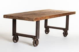 dining table with wheels: