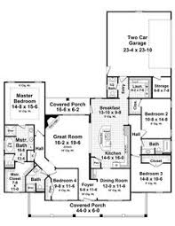Floor plans  Guest houses and House plans on PinterestThe Aspen Creek House Plan    I decided yesterday I wanted a single story home  I found this plan today  I think its fate  because this is what I had in