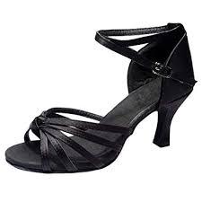 Buy Outtop(TM) Women <b>Sexy High Heel Sandals</b> Ladies Satin Latin ...