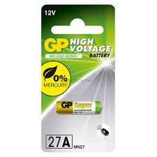<b>Батарейка GP</b> (Джи пи) <b>27A</b> 12V 1 шт. — сравнить цены и купить ...