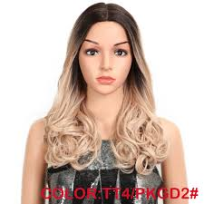 <b>MAGIC</b> Hair Synthetic Lace Front Wigs For <b>Black</b> Woman <b>Ombre</b> ...