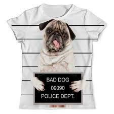 <b>Printio Футболка с полной</b> запечаткой (мужская) Bad dog in 2020