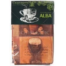 <b>Скатерть</b> из ткани с влагостойким покрытием, 120х140 см, <b>Alba</b> ...