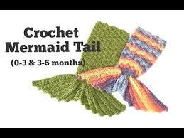 How to <b>Crochet Mermaid Tail</b> for <b>baby</b> (0-3 & 3-6 months) - YouTube