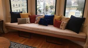 trapezoid cushion custom cushion bay window seat cushion banquette seat bench cushion window seat chair pad kitchen cushion bay window seat cushion