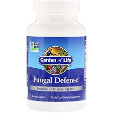 Garden of Life, <b>Fungal Defense</b>, <b>84</b> Vegan <b>Caplets</b> - Buy Online in ...