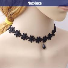 <b>HOT SALE Women's</b> Fashion Lace Collar <b>Choker</b> Statement ...