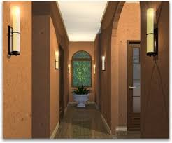 hallway lighting sconces best lighting for hallways