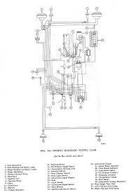 wiring schematics ewillys 1965 cj3b wiring