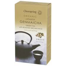 Clearspring <b>Organic Genmaicha Brown</b> Rice Tea, 40 g, 20 teabags