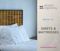 Declutter Challenge Week 23: <b>Holey Sheet</b>! – Allsorts Organising