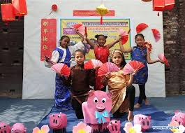 Nepalese students perform Chinese dance to celebrate Chinese ...