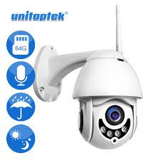 Techage <b>1080P</b> Wireless 2MP <b>PTZ Speed Dome</b> 2-Way Audio ...
