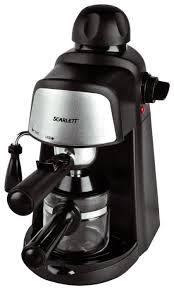 <b>Кофеварка</b> рожковая <b>Scarlett SC</b>-<b>037</b> — купить по выгодной цене ...