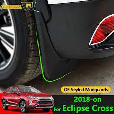 Набор литых <b>брызговиков</b> для <b>Mitsubishi</b> Eclipse Cross 2018 на ...