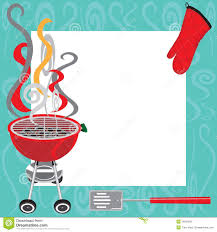barbecue invitation template com barbecue party invitation bbq template flyer stock vector image
