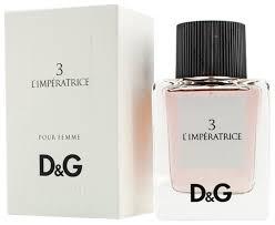 Купить <b>Туалетная</b> вода <b>DOLCE & GABBANA 3 L</b>'<b>Imperatrice</b>, 50 мл ...