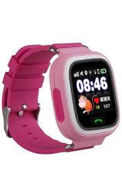 Q90 розовый <b>Smart Baby Watch</b> quartz wrist watches for children