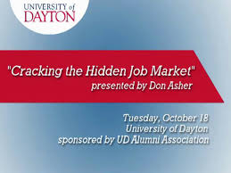university of dayton cracking the hidden job market presented by university of dayton cracking the hidden job market presented by don asher on vimeo