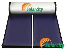 Kết quả hình ảnh cho hình ảnh may nước nóng solarcity tấm phẳng