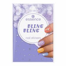 <b>Essence Bling Bling Nail Stickers</b>   Wilko