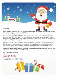santa letter template target santa letters and nice list certificates letters to kids from santa ifxevaqw
