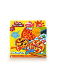 """Набор <b>тесто для лепки Multiart</b> """"Пиццерия"""". Играем вместе ..."""