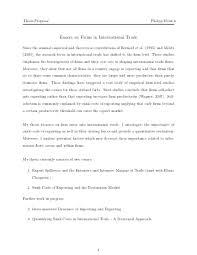 essay international trade  free international trade essay  essay international trade