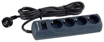 <b>Сетевой фильтр Pilot m-MAX</b>, черный, 3 м — купить по выгодной ...
